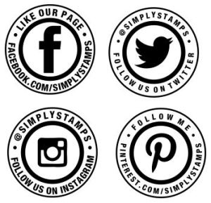 Simply Stamps Custom Social Media Stamps for Business