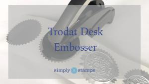 Trodat Desk Embosser