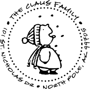 snowflake catcher address stamp