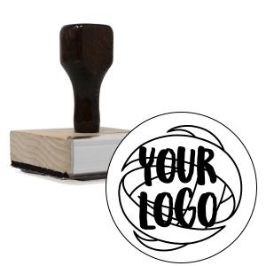 wood handle logo stamps