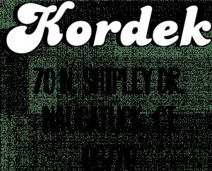 kordek bold address stamp