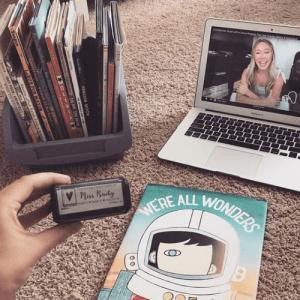 custom stamp and teacher books