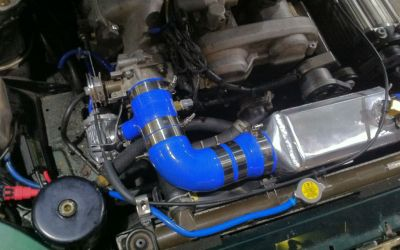 Installing second throttle body
