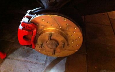 changing brakes on miata NBFL