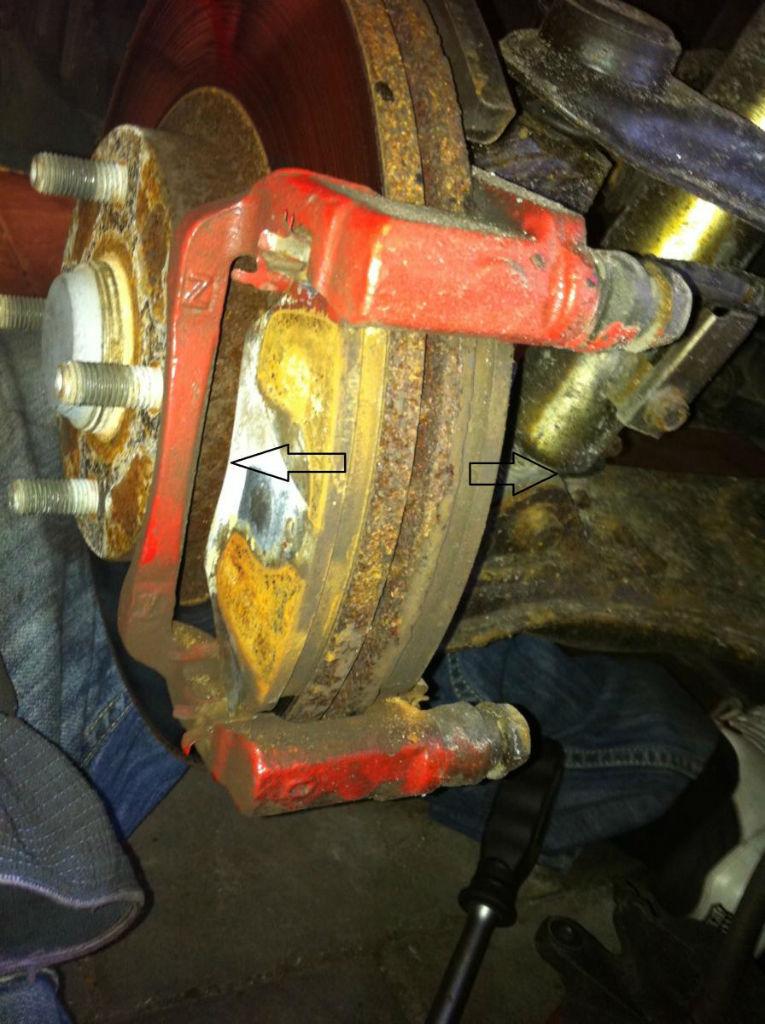 mazda MX5 NB FL brake and pad upgrade