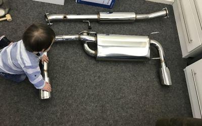 Cobalt Exhaust system