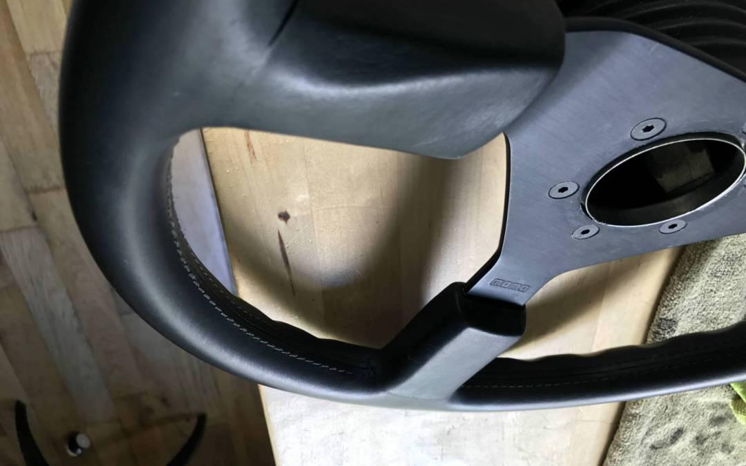 Refurbish MOMO Steering Wheel