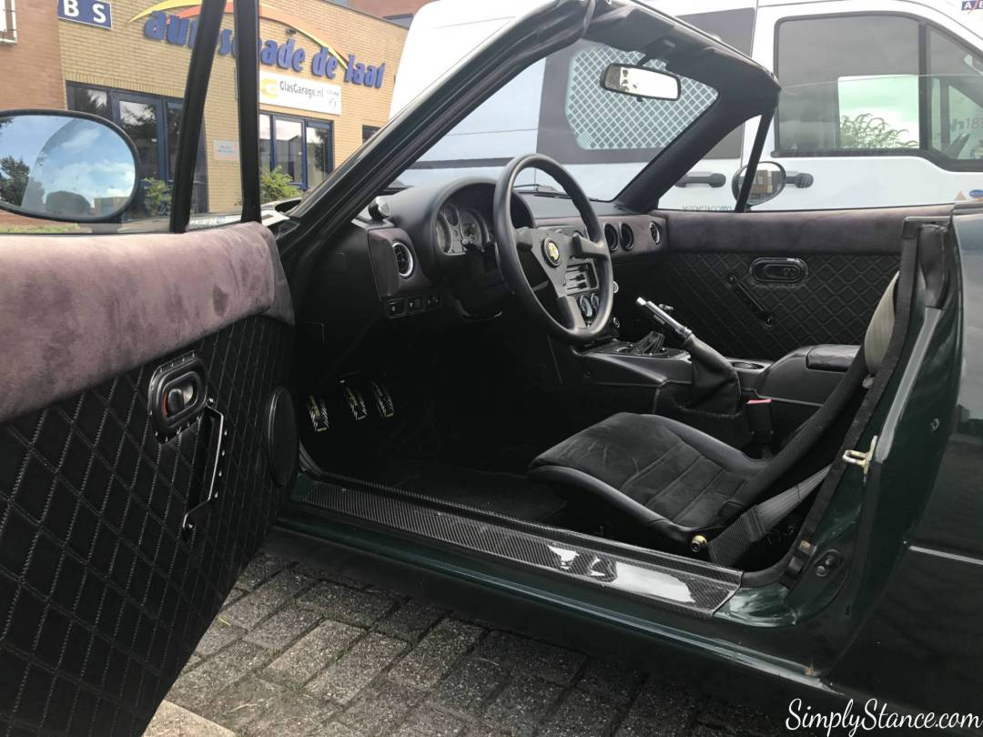 Interieur opdates + lotus elise seats