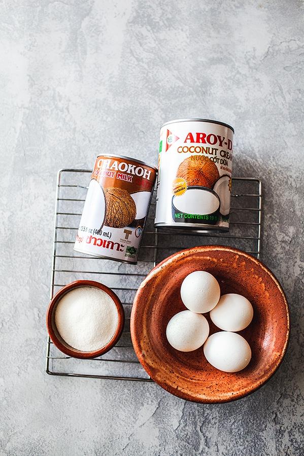 coconut ice cream coconut cream
