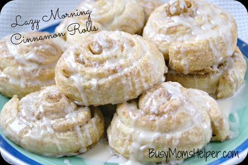 Lazy Morning Cinnamon Rolls