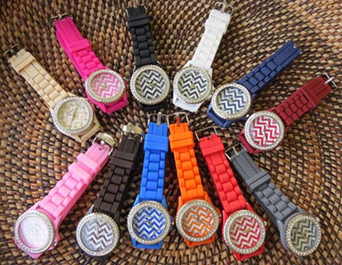 Trendy Boutique Chevron Watches