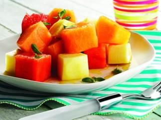 Farmers' Market Melon & Herb Salad