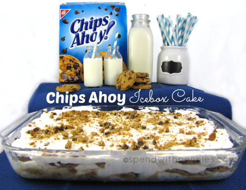 No  Bake Chips Ahoy Cake