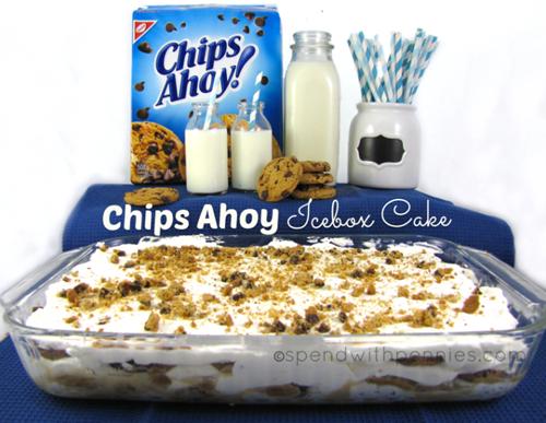 No  Bake Chips Ahoy Cake