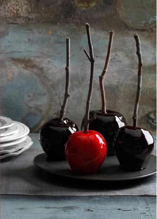 Dark Candy Apples