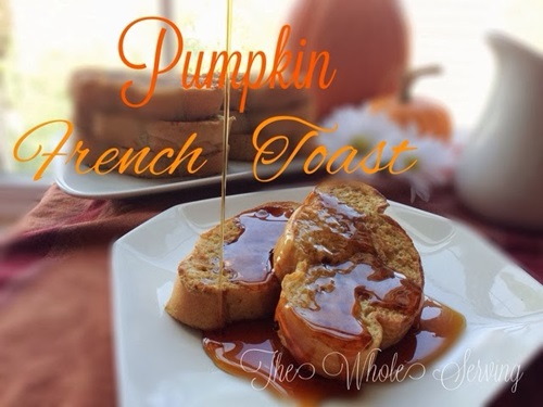 Pumpking French Toast