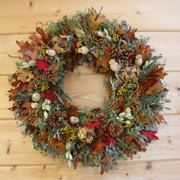 Fall Abundant Wreath-3x