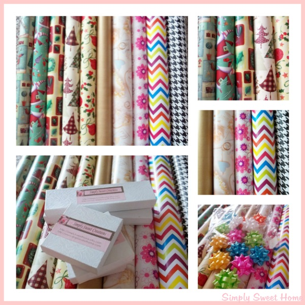 Gift Wrap at Simply Sweet Creations