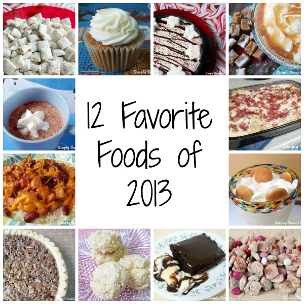12 Favorite Foods of 2013