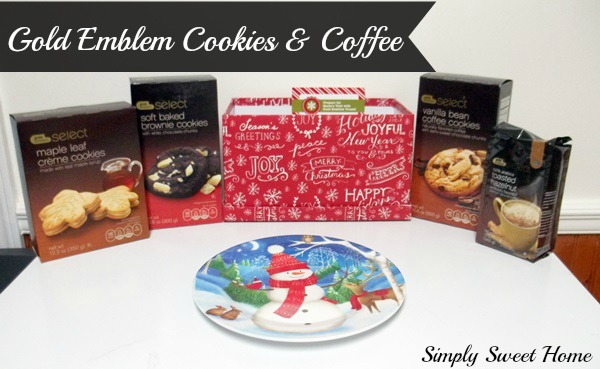 Gold Emblem Cookies and Coffee