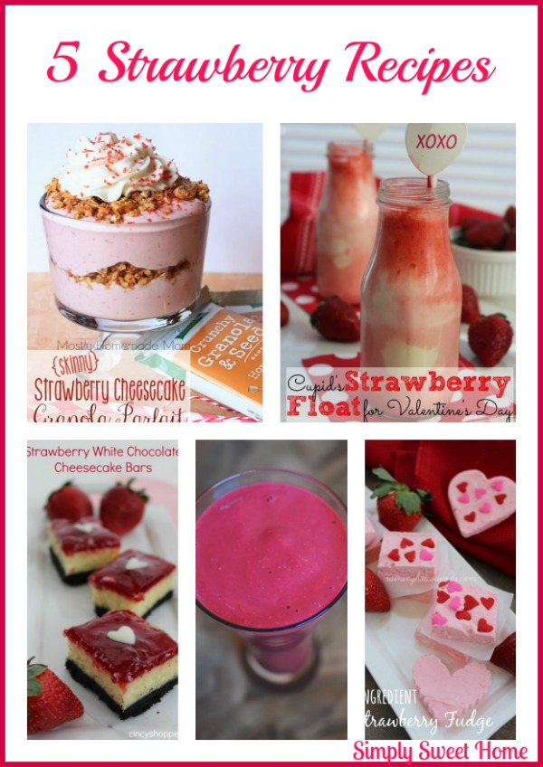 5 Strawberry Recipes