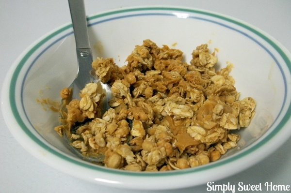 Granola with Peanut Butter