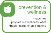 Prevention & Wellness