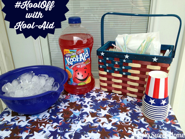 Kool-Aid Drink Cart