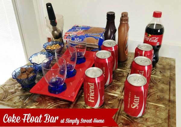 Coke Float Bar