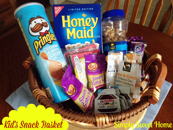 Kids Snack Basket