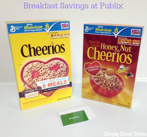 Breakfast Savings at Publix