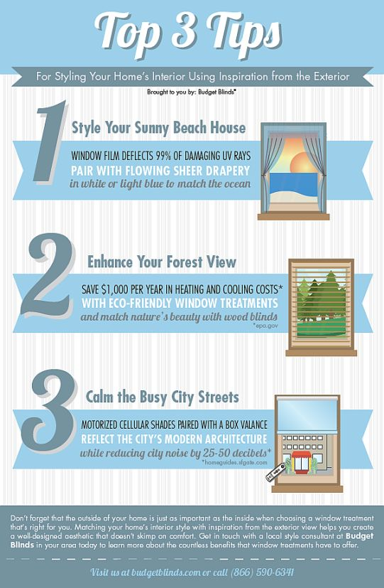 Tips for Styling Your Homes Interior Infographic