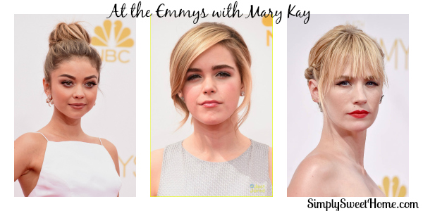 At the Emmys with Mary Kay