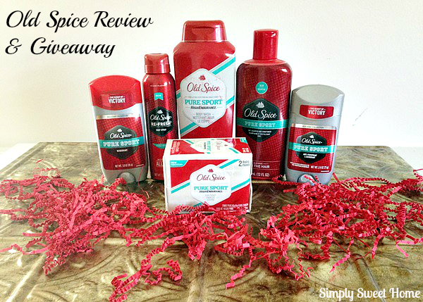 Old Spice Review and Giveaway