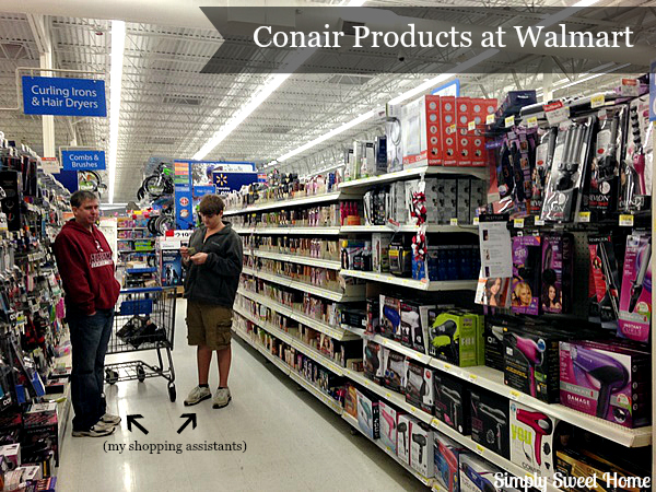 Conair Products at Walmart