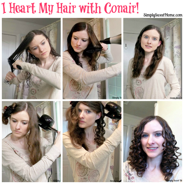 Heart my Hair with Conair