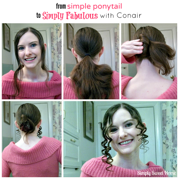 Simple Ponytail to Simply Fabulous