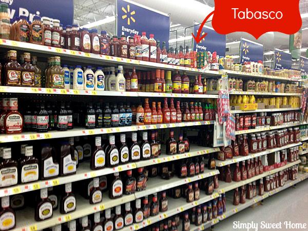 Tabasco at Walmart