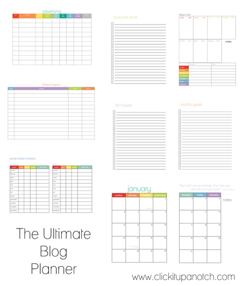 blog planner 12