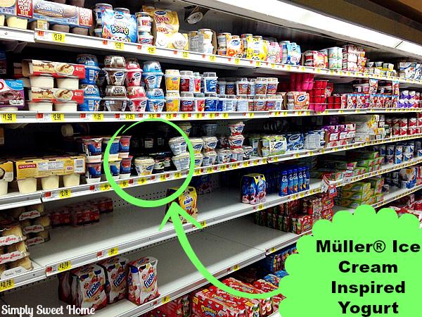 Muller Yogurt at Walmart