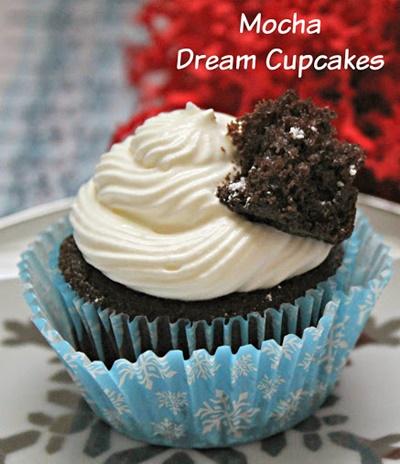 mocha dream cupcakes