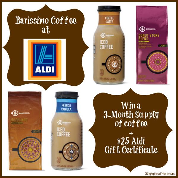 Aldi Barissimo Coffee Giveaway