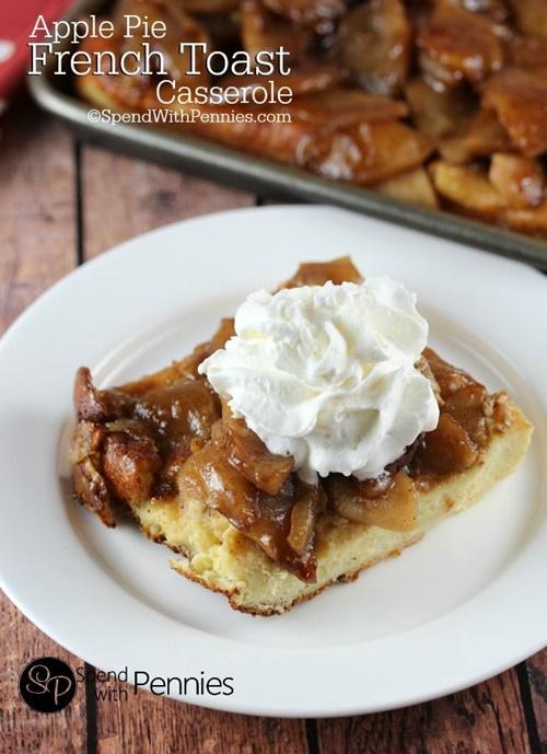 Apple Pie French Toast Casserole