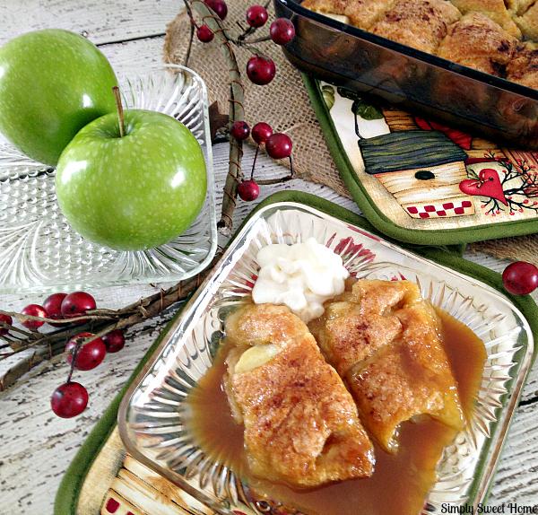 Caramel Apple Dumplins