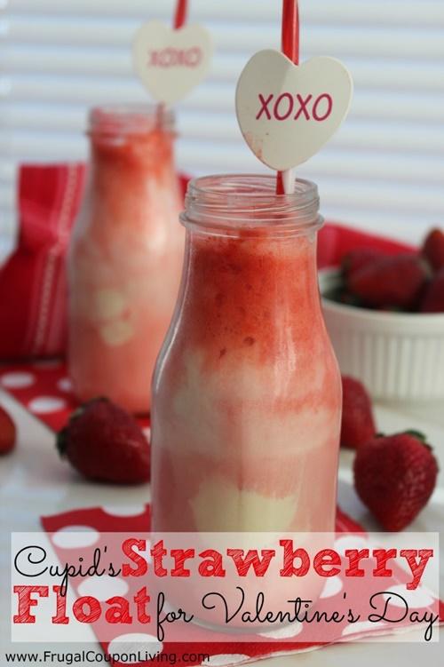 Cupid Strawberry Float