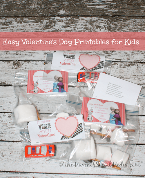 Easy Valentine Printable