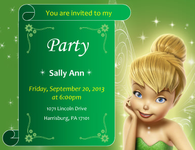 Tinkberbell Party