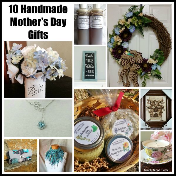 10 Handmade Mothers Day Gifts