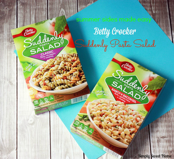 Betty Crocker Suddenly Pasta Salad