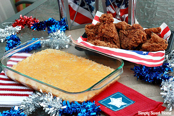 4th of July Fried Chicken